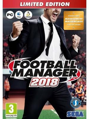 Football Manager 2018 (digitaalinen toimitus)