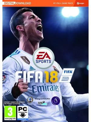 Fifa 18 PC (digitaalinen toimitus)