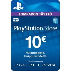 PlayStation Network PSN Card 10€ (digitaalinen toimitus)