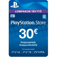 PlayStation Network PSN Card 30€ (digitaalinen toimitus)