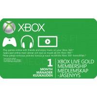 Xbox Live Gold 1 kk (digitaalinen toimitus)