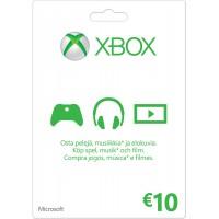 Xbox Live 10 Euron lahjakortti (digitaalinen toimitus)