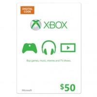 Xbox Live USA 50 Dollarin lahjakortti (digitaalinen toimitus)
