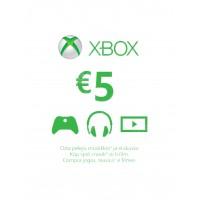 Xbox Live 5 Euron lahjakortti (digitaalinen toimitus)