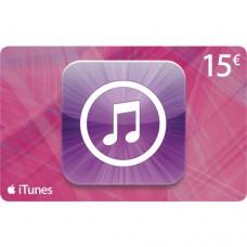 Apple iTunes 15 euron lahjakortti (digitaalinen toimitus)