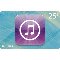 Apple iTunes 25 euron lahjakortti (digitaalinen toimitus)