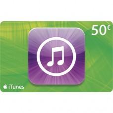 Apple iTunes 50 euron lahjakortti (digitaalinen toimitus)