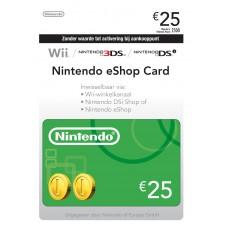 Nintendo eShop 25 Euron lahjakortti (digitaalinen toimitus)