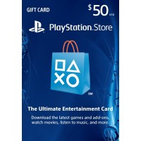 PlayStation Network USA PSN Card 50 dollaria (digitaalinen toimitus)