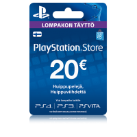 PlayStation Network PSN Card 20€ (digitaalinen toimitus)