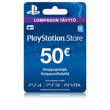 PlayStation Network PSN Card 50€ (digitaalinen toimitus)