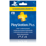 PlayStation Network PSN Plus 12 kk (digitaalinen toimitus)