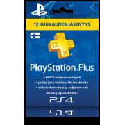 PlayStation Network PSN Plus 12 kk (digitaalinen toimitus)