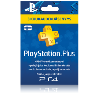 PlayStation Network PSN Plus 3 kk (digitaalinen toimitus)